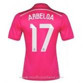 Maillot Real Madrid Arbeloa Exterieur 2014 2015 Rabais prix