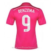 Maillot Real Madrid Benzema Exterieur 2014 2015 Remise Nice