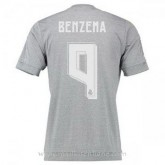 Maillot Real Madrid Benzema Exterieur 2015 2016 Original