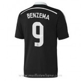Maillot Real Madrid Benzema Troisieme 2014 2015 Paris