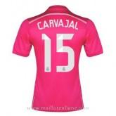 Maillot Real Madrid Carvajal Exterieur 2014 2015 Remise prix