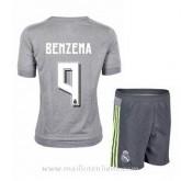 Maillot Real Madrid Enfant Benzema Exterieur 2015 2016 Réduction