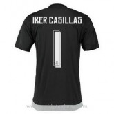Maillot Real Madrid Gardien Iker Casillas Domicile 2015 2016 Ventes Privées