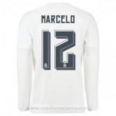 Maillot Real Madrid Manche Longue Marcelo Domicile 2015 2016 Lyon
