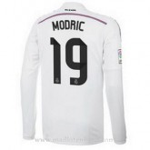 Maillot Real Madrid Manche Longue Modric Domicile 2014 2015 Magasin Lyon