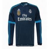 Maillot Real Madrid Manche Longue Troisieme 2015 2016 Pas Chere