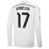 Maillot Real Madrid Ml Arbeloa Domicile 2014 2015 Promo prix