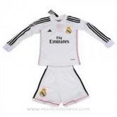 Maillot Real Madrid Ml Enfant Domicile 2014 2015 Rabais