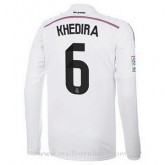 Maillot Real Madrid Ml Khedira Domicile 2014 2015 Réduction