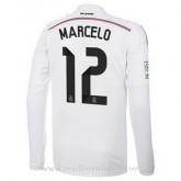 Maillot Real Madrid Ml Marcelo Domicile 2014 2015 Remise Nice