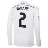 Maillot Real Madrid Ml Varane Domicile 2014 2015 Remise prix