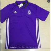 Maillot Real Madrid Polo Violet 2016 2017 Vendre Marseille