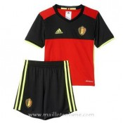 Meilleure Qualité Maillot Belgique Enfant Domicile Euro 2016