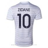 Meilleure Qualité Maillot France Zidane Exterieur 2014 2015