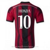 Mode Maillot Ac Milan Honda Domicile 2014 2015