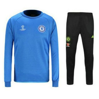 Mode Maillot Formation Ml Chelsea Ucl Bleu 2016 2017