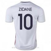 Mode Maillot France Zidane Exterieur 2015 2016