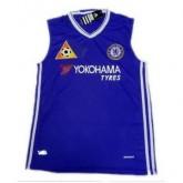Nouveau Maillot Sanst Manchest Chelsea Bleu 2016 2017
