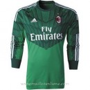 Nouvelle Collection Maillot Ac Milan Manche Longue Goalkeeper 2014 2015
