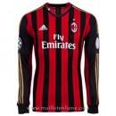 Nouvelle Maillot Ac Milan Manche Longue Domicile 2013-2014
