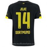 Nouvelle Maillot Borussia Dortmund Jojic Exterieur 2014 2015
