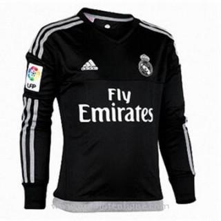 Nouvelle Maillot Real Madrid Gardien Manche Longue Domicile 2015 2016