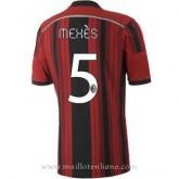 Nouvelles Maillot Ac Milan Mexes Domicile 2014 2015