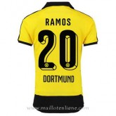 Nouvelles Maillot Borussia Dortmund Ramos Domicile 2015 2016