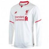 Nouvelles Maillot Liverpool Manche Longue Exterieur 2015 2016