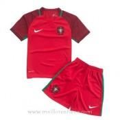 Nouvelles Maillot Portugal Enfant Domicile Euro 2016