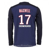 Officiel Maillot Psg Manche Longue Maxwell Domicile 2015 2016