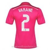 Officiel Maillot Real Madrid Varane Exterieur 2014 2015