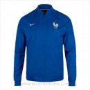 Officiel Veste De Foot France 2016 2017 Bleu