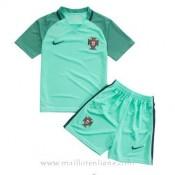 Original Maillot Portugal Enfant Exterieur Euro 2016