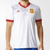 Paris Maillot De Pre-Match Espagne Blanc 2016/2017