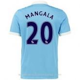 Promo Maillot Manchester City Mangala Domicile 2015 2016
