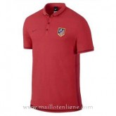 Promotions Maillot Atletico De Madrid Polo Rouge 2016