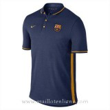 Promotions Maillot Barcelone Polo Bleu Fonce 2016