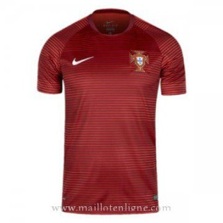 Remise Maillot Avant-Match Portugal Rouge 2016 2017