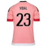 Remise Maillot Juventus Vidal Exterieur 2015 2016