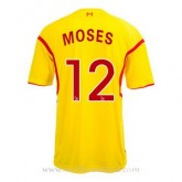 Remise Maillot Liverpool Moses Exterieur 2014 2015