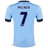 Remise Maillot Manchester City Milner Domicile 2014 2015