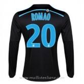 Remise Maillot Marseille Manche Longue Romao Troisieme 2014 2015