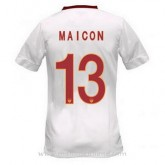 Site Officiel Maillot As Roma Maicon Exterieur 2014 2015