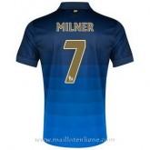 Site Officiel Maillot Manchester City Milner Exterieur 2014 2015