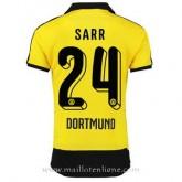 Solde Maillot Borussia Dortmund Sarr Domicile 2015 2016