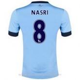 Soldes Maillot Manchester City Nasri Domicile 2014 2015