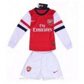 Vente Maillot Arsenal Manche Longue Enfant Domicile 2013-2014