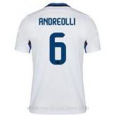 Vente Maillot Inter Milan Andreolli Exterieur 2015 2016