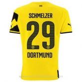 Vente Nouveau Maillot Borussia Dortmund Schmelzer Domicile 2014 2015